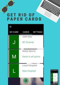 Business Card Scanner screenshot 1