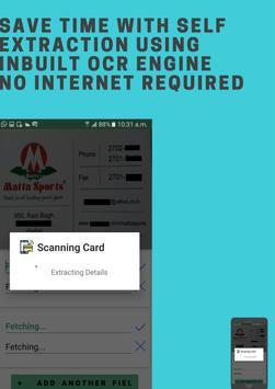 Business Card Scanner screenshot 2