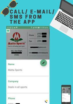 Business Card Scanner screenshot 3