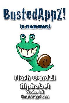 Flash CardZ! - Alphabet poster