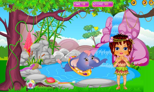 Caring Baby Elephant screenshot 3
