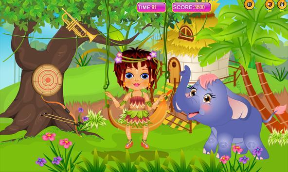 Caring Baby Elephant screenshot 1