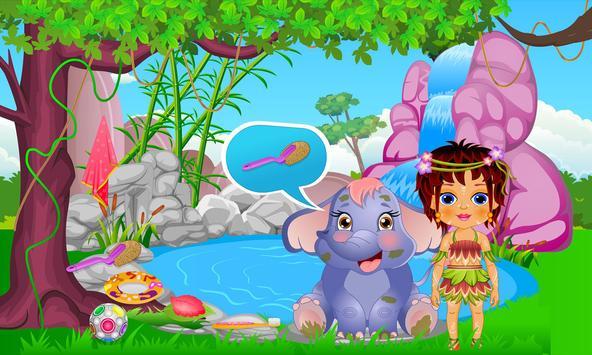 Caring Baby Elephant screenshot 2