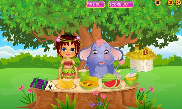 Caring Baby Elephant apk screenshot