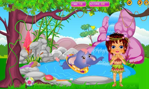Caring Baby Elephant screenshot 8