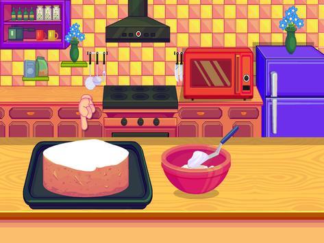 Cooking Sports Cake screenshot 6