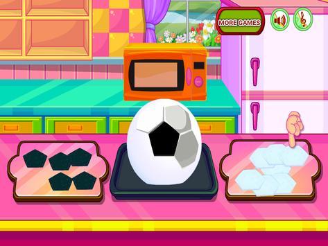 Cooking Sports Cake screenshot 9