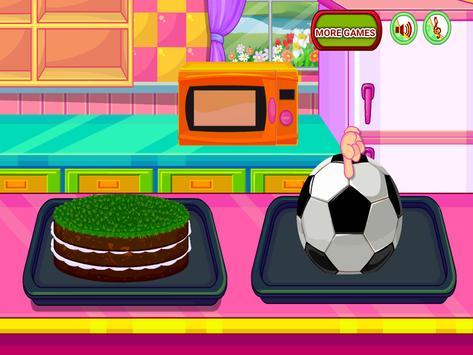 Cooking Sports Cake screenshot 13