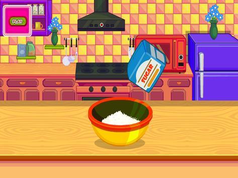 Cooking Sports Cake screenshot 2