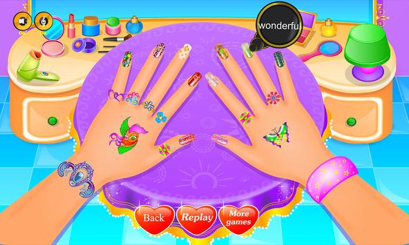 Shiny Nail Salon screenshot 16
