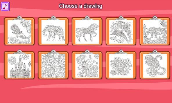 Virtual Mandala Coloring Book screenshot 4