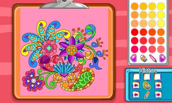 Virtual Mandala Coloring Book screenshot 8