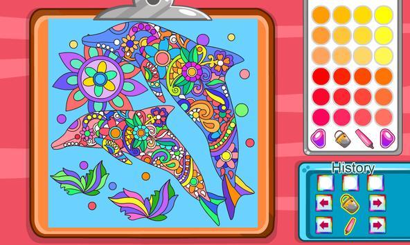 Virtual Mandala Coloring Book screenshot 12