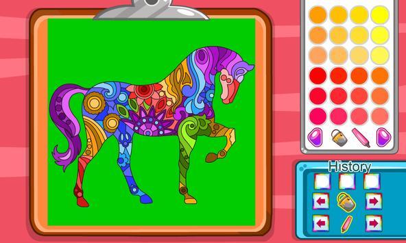 Virtual Mandala Coloring Book screenshot 3