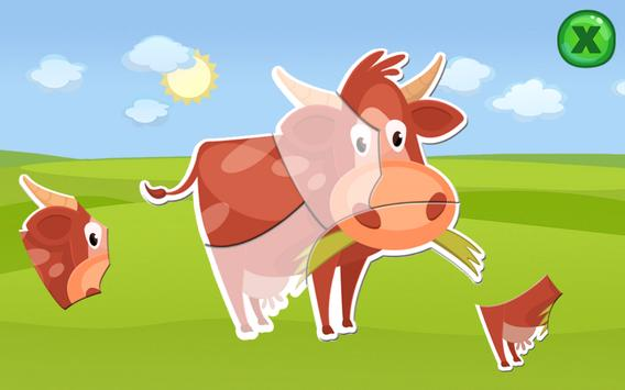 Animal Puzzles for Kids Free apk screenshot
