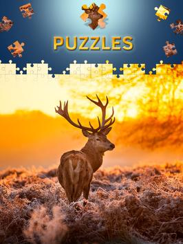 Animals Jigsaw Puzzles Free poster