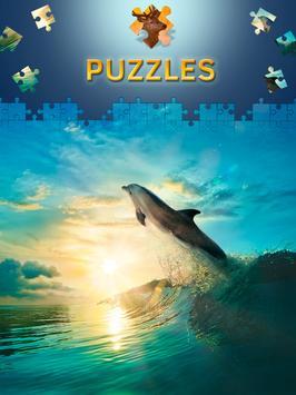 Animals Jigsaw Puzzles Free apk screenshot