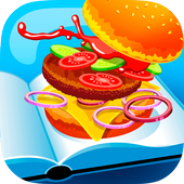 My Restaurant Cooking Game icon