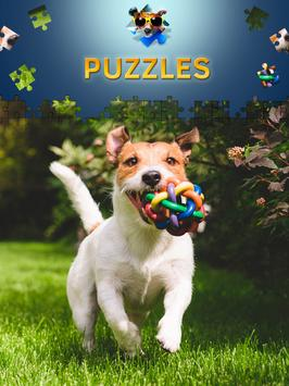 Dogs Jigsaw Puzzle Games apk screenshot