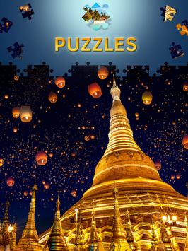 Landscape Jigsaw Puzzles Free apk screenshot
