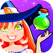 Candy Witch Games for Kids icon