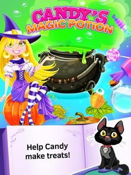 Candy Witch Games for Kids poster