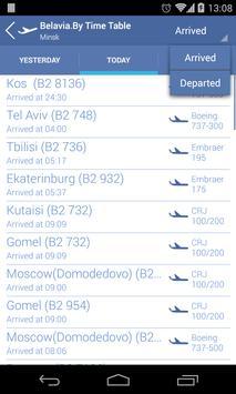 Belavia.by Time Table screenshot 5