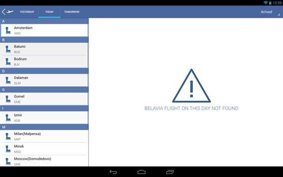 Belavia.by Time Table screenshot 13