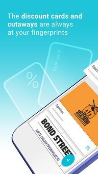 iDiscount Card Holder poster