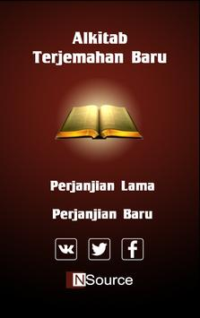 Indonesian Holy Bible poster