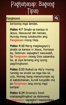 Tagalog Bible screenshot 6