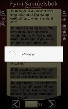 Biblían á íslensku screenshot 13