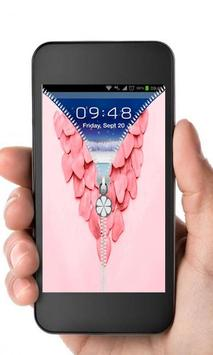 new Pink Roses screen lock apk screenshot