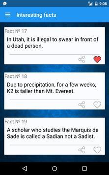 Useless facts screenshot 7