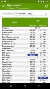 Курсы валют Нормативка.by screenshot 2