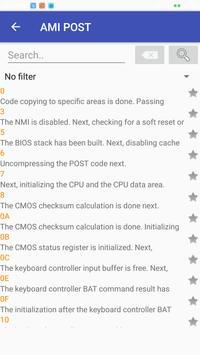 Error codes apk screenshot