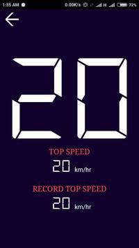 GPS Speedometer Free screenshot 1