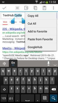 TextHub screenshot 2