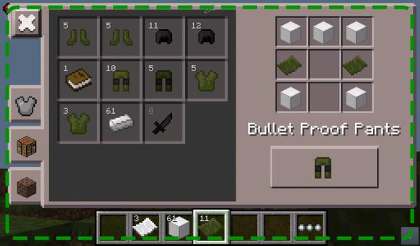 Military Armor Mod Installer apk screenshot