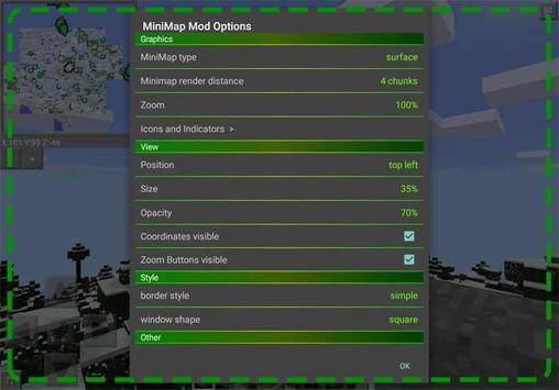 Smooth Minimap Mod Installer apk screenshot