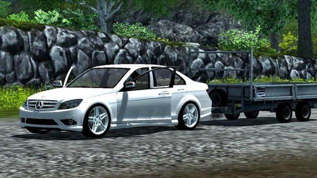 C220 Car Drive Simulator apk screenshot