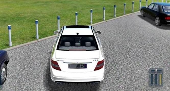C63 Car Drive Simulator screenshot 4