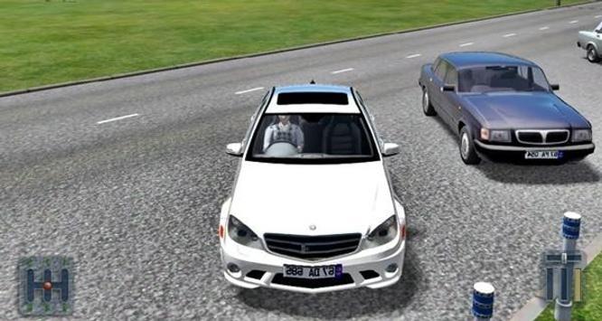C63 Car Drive Simulator poster