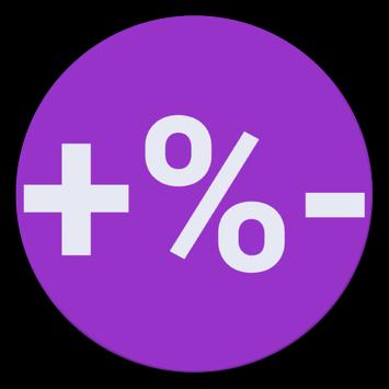 PERCENT CALCULATOR apk screenshot