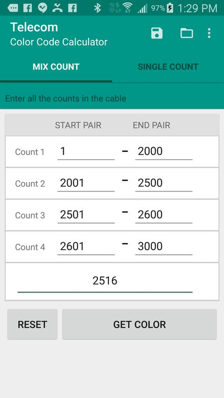 Telecom color code translator apk download free tools app for.