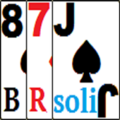 Black Red Solitaire icon