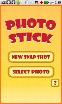 Photo stick poster