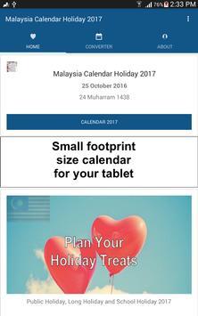 Malaysia Calendar Holiday 2017 screenshot 5