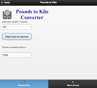 Pounds To Kilograms Converter Apk Download Free Tools App For