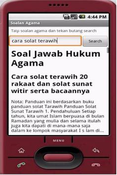 Soalan Agama for Android poster